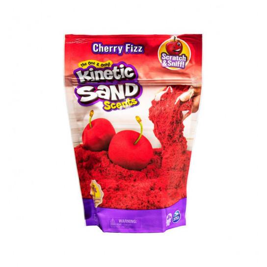 Песок для детского творчества с ароматом - Kinetic Sand Вишневая шипучка