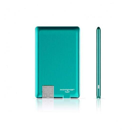 Портативная Батарея Xoopar - Power Card (Мятная, 1300 Ма*Ч)