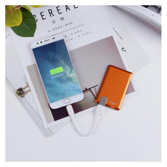 Портативная Батарея Xoopar - Power Card (Оранжевая, 1300 Ма*Ч)