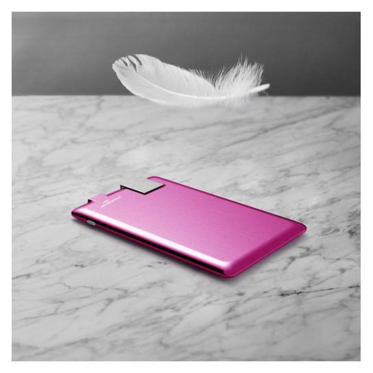 Портативная Батарея Xoopar - Power Card (Розовая, 1300 Ма*Ч)