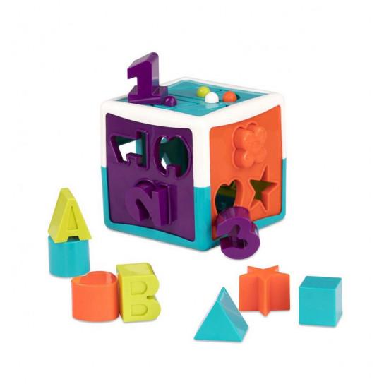 Развивающая Игрушка-Сортер - Умный Куб