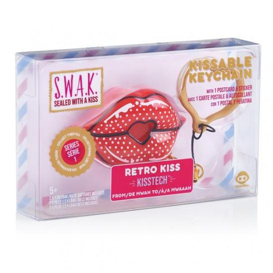 S.W.A.K. Интерактивная игрушка-брелок «Волшебный поцелуй: Ретро»
