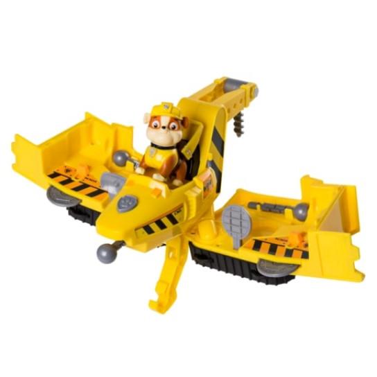 Щенячий патруль: Большой спасательный автомобиль-трансформер c фигуркой Крепыша
