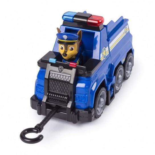 Щенячий патруль Черезвычайная миссия: спасательный автомобиль с водителем Гонщик