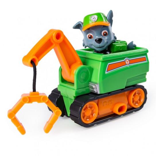 Щенячий патруль: (серия Чрезвычайная миссия) Мини спасательный автомобиль Рокки