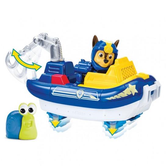 Щенячий патруль: спасательный автомобиль с фигуркой Гонщика (серия Морской патруль)