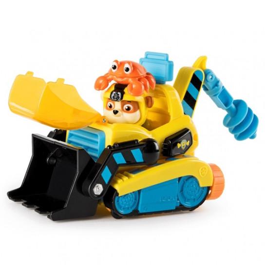 Щенячий патруль: спасательный автомобиль с фигуркой Крепыша (серия Морской патруль)