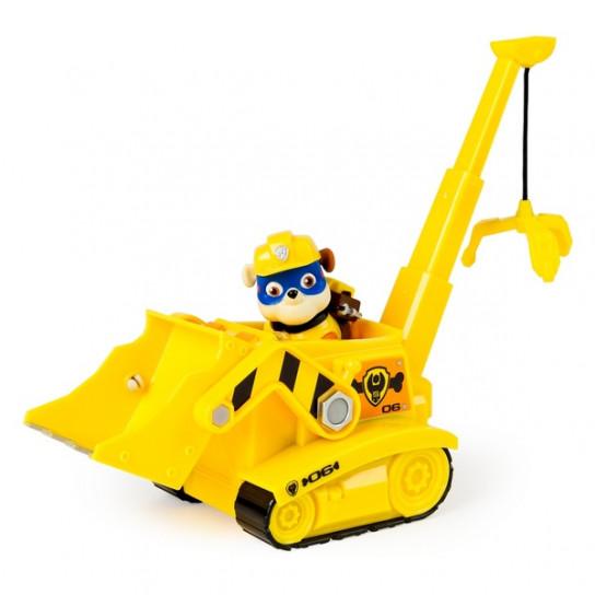 Щенячий патруль: спасательный автомобиль с фигуркой Крепыша в новой экипировке