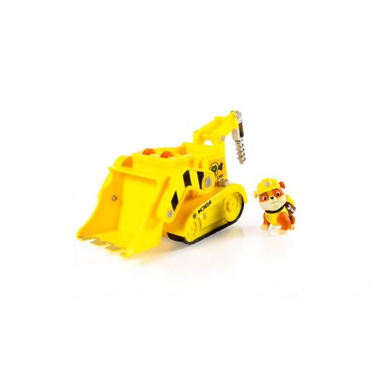 «Щенячий патруль»: спасательный автомобиль с фигуркой Крепыш(звуковые и световые эффекты)