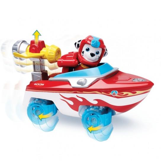 Щенячий патруль: спасательный автомобиль с фигуркой Маршала (серия Морской патруль)