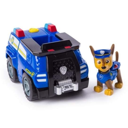 Щенячий патруль: спасательный автомобиль- трансформер с Гонщиком- водителем