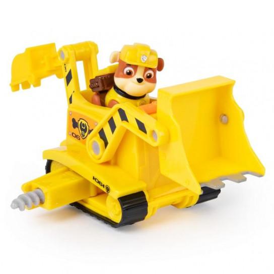 Щенячий патруль: спасательный автомобиль- трансформер с Крепышом-водителем