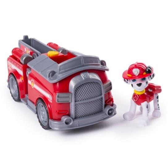 Щенячий патруль: спасательный автомобиль- трансформер с Маршалом- водителем