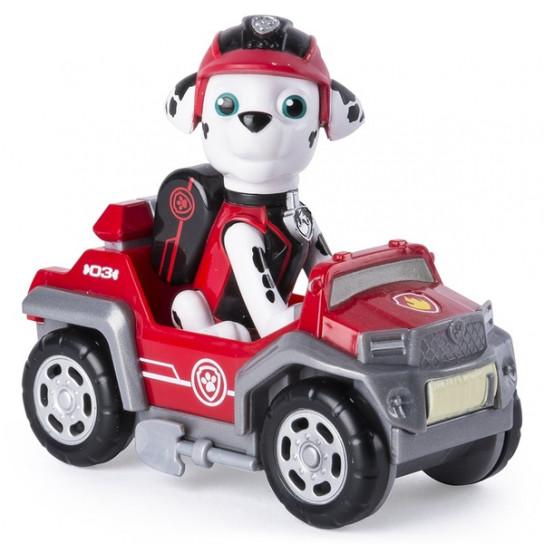 Щенячий патруль тайная миссия: мини спасательный автомобиль с водителем Маршал