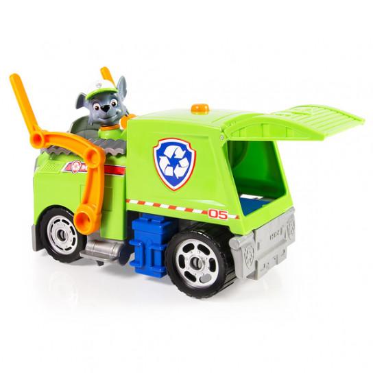 «Щенячий патруль»: автомобиль трансформер де-люкс (звуковые и световые эффекты) Рокки