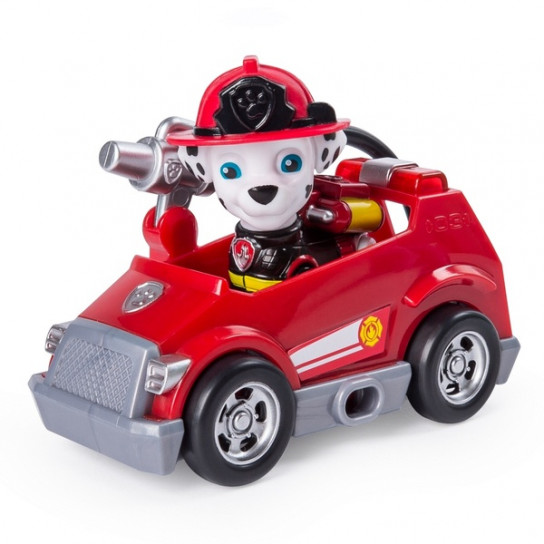 Щенячий патруль: (серия Чрезвычайная миссия) Мини спасательный автомобиль Маршала