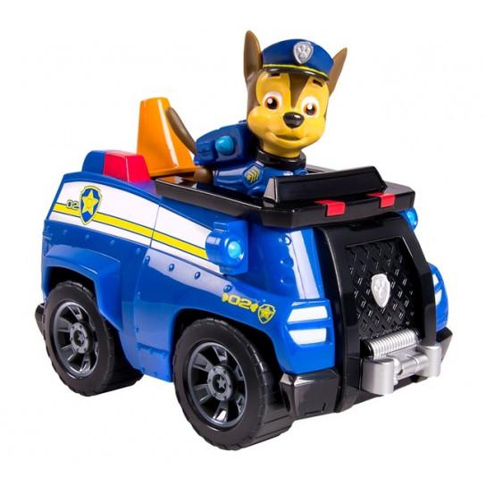 «Щенячий патруль»: спасательный автомобиль с фигуркой Гонщика