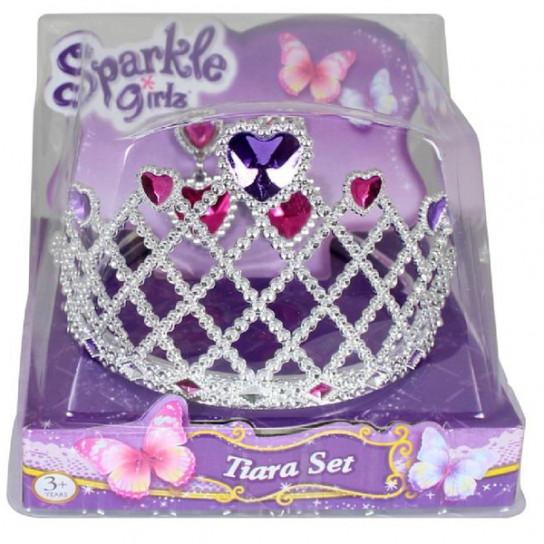 Sparkle Girls Набір з діадеми та сережок для дівчинки. Сердце
