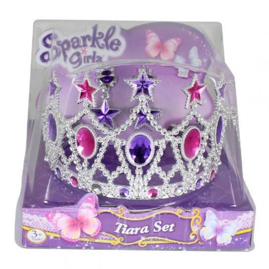 Sparkle Girls Набір з діадеми та сережок для дівчинки. Зірка
