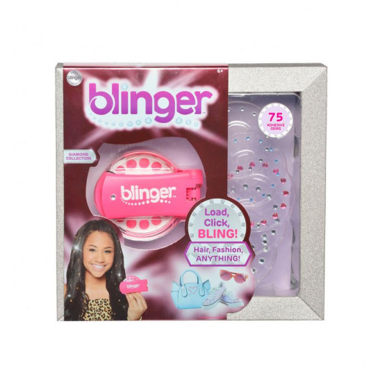 Стайлер Для Прикрашання Стразами Blinger - Рожевий