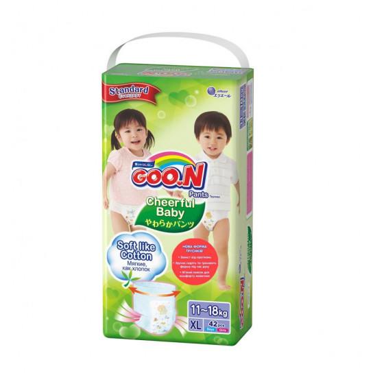 Трусики-подгузники Cheerful Baby для детей (XL, 11-18 кг, унисекс, 42 шт)