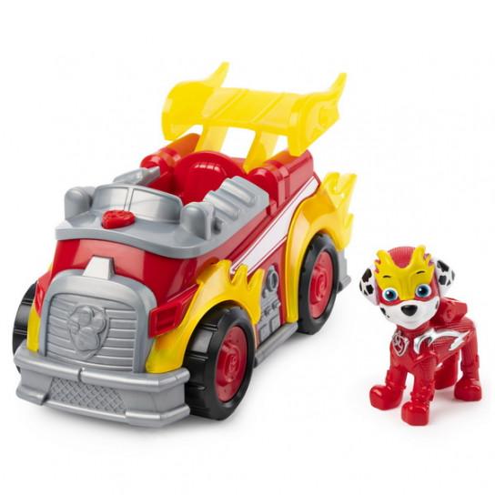 Цуценячий патруль: рятівний автомобіль де-люкс з водієм Маршал зі світловими та звуковими ефектами