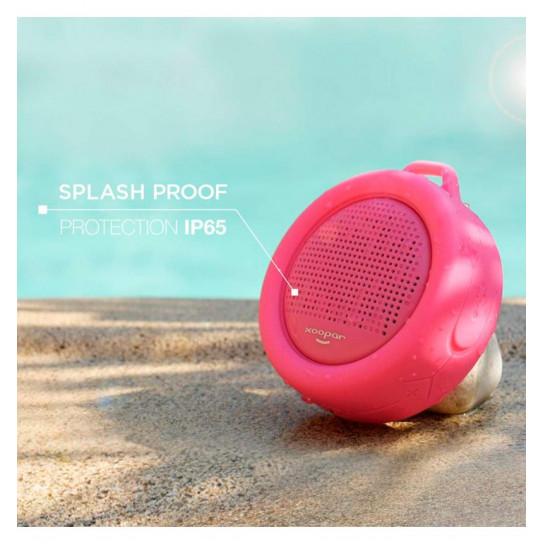 Влагозащищенная Акустика Xoopar – Splash Pop (Розовая, Sd Карта)