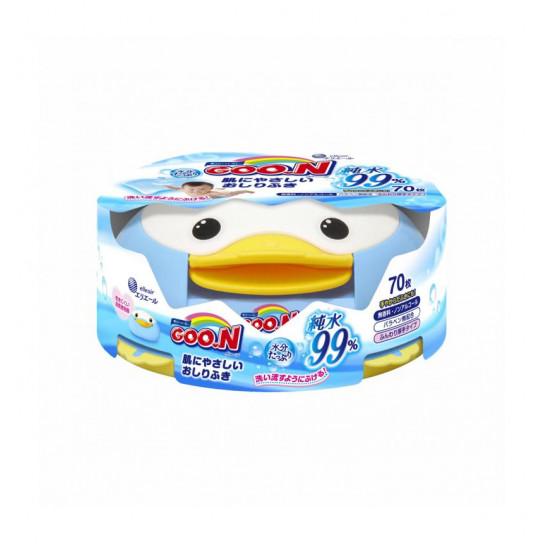 Влажные Салфетки Goo.N Для Чувствительной Кожи (С Боксом-Пингвином)