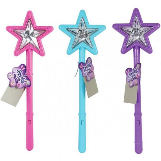Волшебная палочка со звуковыми и световыми эффектами фиолетового цвета