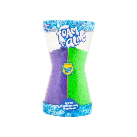 Воздушная Пена Для Детского Творчества Foam Alive - Два В Одном